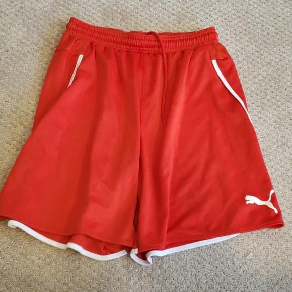 3 for $30 SALE/// Puma soccer shorts